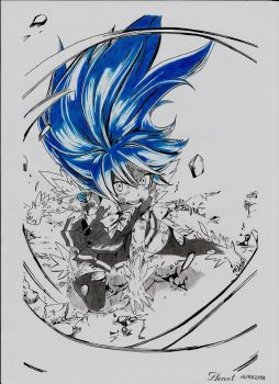 Wendy (Dragon Force) [Fairy Tail] by Fl0wrang