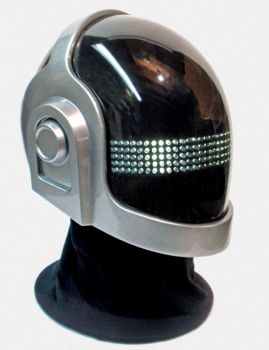 Tron Daft Punk Helmet by PerfectTommyAutomail