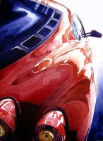 F430 Reflections by ferrariartist