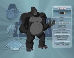 Gorilla Grodd Character Key by Veil1