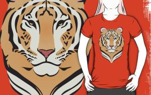 Tigress T-Shirt by drg