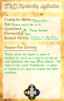 League Application: Terron by Midnight-Yamikidate