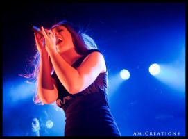 Simone Simons. Live Norway 3 by AmCreationss