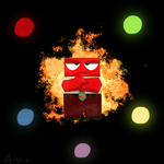 Inside Out - Anger by DNAlexius