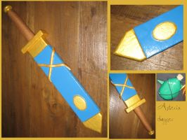 ASTERIX AND OBELIX - Asterix dagger by AridelaAriadne