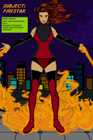 Subject Firestar by Mad-Man-with-a-Pen