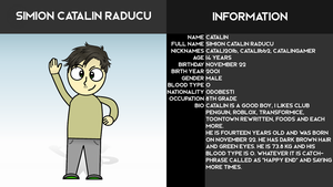 OC #1: Simion Catalin Raducu {OUTDATED} by Catali2016