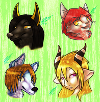 FA HeadShots .1. by Faustina13