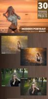 30 Portrait Lightroom Presets by transfactor