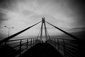 Footbridge III by tulutass