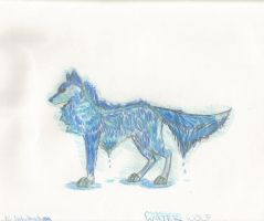 Water Wolf by 12girlwithadream