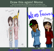 Memefriends by Jadefire33