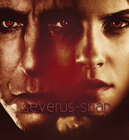 Severus Rogue Hermione Granger by N0xentra