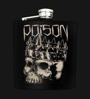 Vicious Vices Engraved Flask by seventhfury