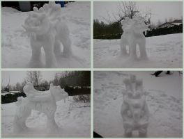 Made of snow by IAW