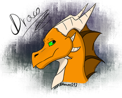.::Draco-SPEEDPAINT::. by Nonthyl