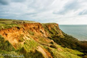 Cliffs of Sandown by CaptainSchroedster