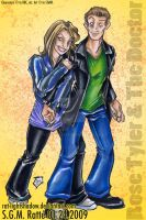 DrW :Rose Tyler and Dr Who: by StephRatte