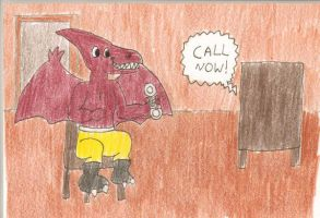 Bullzeye ordering on TV by DinoLover09
