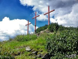 Wooden Crosses by PaSt1978