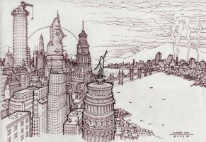 Concept City by RyanBodenheim