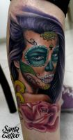 Color Tattoo by santatatoo