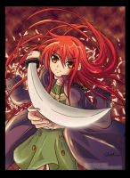 Flame haze - Shana by raidenokreuz76