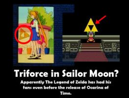 Sailor Moon - The Legend of Zelda Cameo by LotDarkos