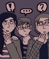 More Color Shit ft. Piper, Jamie, and Logan by IrrelevantFrenchFry