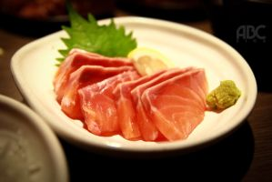 yummy sashimi! by acechong