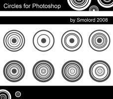 Circles for Photoshop by Smolord