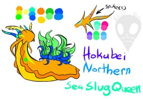 Northern Sea Slug Queen by Skull-gum
