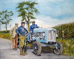 The New Tractor 1954 by Edwrd984