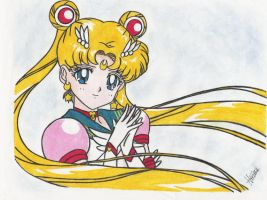 Sailor Moon by Angel-Hikaru-chan