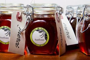 Honey labels by daverazordesign