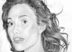 Emmy Rossum Portrait by bananaboo2