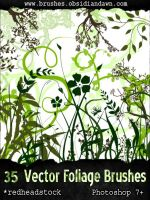 GIMP Vector Foliage-Plants by Project-GimpBC