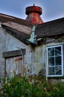 Interesting Section of the Barn in cam HDR by PAlisauskas