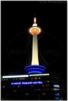 Kyoto Tower by K-Tak