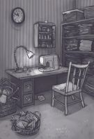 Martha Rosenthal's Sewing Room by DimeSpin