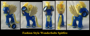 Fashion Style Spitfire Wonderbolt by Gryphyn-Bloodheart