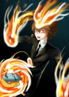 Tsuna and nuts by Crimsonlily434