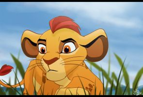 Kion the Lion Guard by Juffs