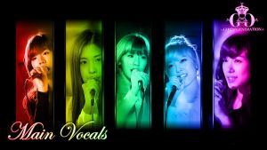 SNSD main Vocals by rhuday