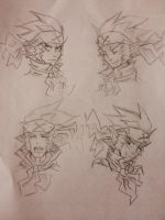 Mr. Champloo sketches by ilovereshiram01