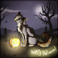 Happy haloween! by Flemaly