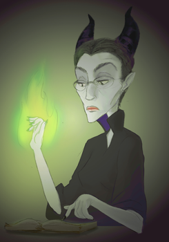 How Maleficent does it by CoreyGallagher