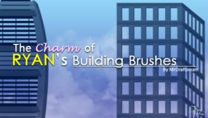 Charm of Ryan Building Brushes by MrDraftsman
