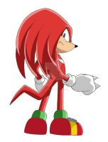 Knuckles the Echidna by linkhedgehog