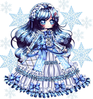 Winter Lolita by MilkyWay-Galaxy